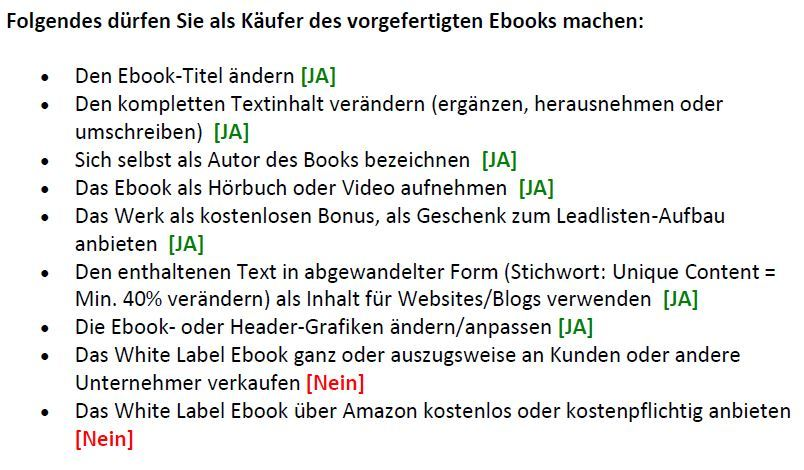 Lizenzbedingungen_White label ebooks